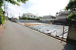 ゆとりの敷地面積39坪超の整形地