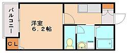 ヴィルシーナ太宰府[2階]の間取り