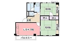 西宮千島ハウス[105号室]の間取り