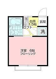 グリーンサプライ[1階]の間取り