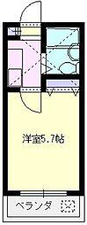 レジデンス山田D[7号室号室]の間取り