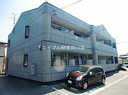 岡山県岡山市東区西大寺中野丁目なしの賃貸マンションの外観
