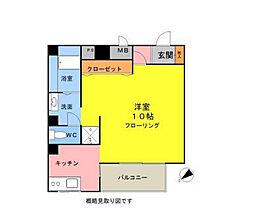 神奈川県横浜市中区寿町1丁目の賃貸マンションの間取り