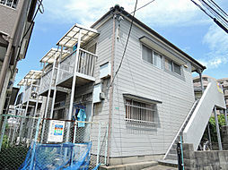 福岡県北九州市小倉北区篠崎3丁目の賃貸アパートの外観