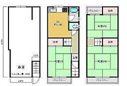 一戸建て(弁天町駅から徒歩10分、83.52m²、1,480万円)