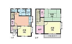 [テラスハウス] 神奈川県茅ヶ崎市出口町 の賃貸【/】の間取り