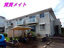 三重県四日市市松原町の賃貸アパートの外観