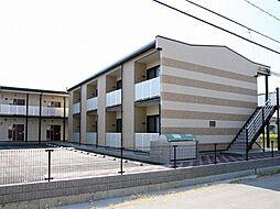 兵庫県姫路市花田町上原田の賃貸アパートの外観