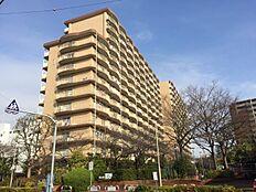 総戸数464戸のマンションです。敷地内には公園もあります。ラジオ体操も開かれたりします。