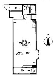 高円寺ROSA[2階]の間取り