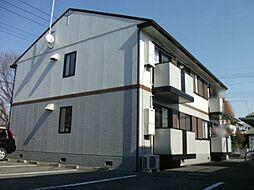 埼玉県深谷市国済寺町の賃貸アパートの外観