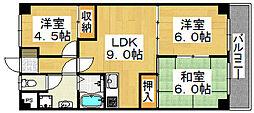 レジデンス蔵前[1階]の間取り