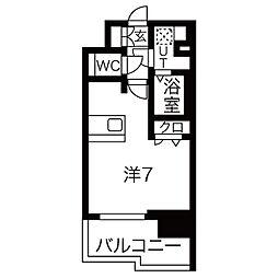 プレサンス鶴舞公園ウィズ[7階]の間取り