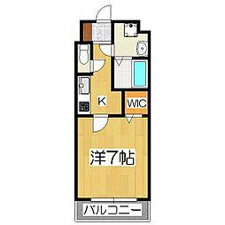 maison mint[3階]の間取り