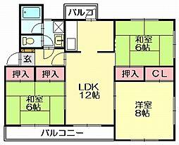 第2志免東福ビル[5階]の間取り