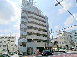 東京都大田区中央2丁目の賃貸マンションの外観