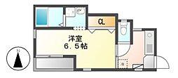 カーサ・光[2階]の間取り