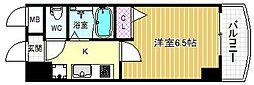HOPECITY天神橋[4階]の間取り