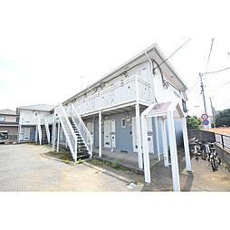 埼玉県川越市新宿町2丁目の賃貸アパートの外観
