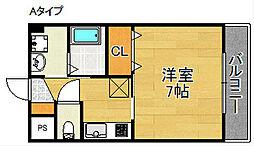 スパーチ[3階]の間取り
