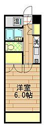 豊田ガーデンハイツ[223号室]の間取り