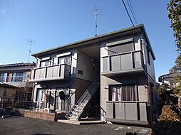 埼玉県東松山市松葉町3丁目の賃貸アパートの外観