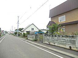 前面道路の写真...