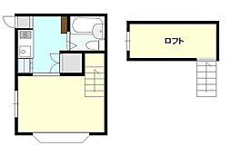 グレースサンハイツ[2階]の間取り