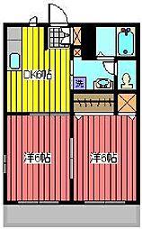 セピアコート(弥平)[2階]の間取り