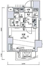 リヴシティ王子神谷[5階]の間取り