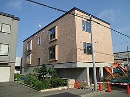 北海道札幌市東区北四十二条東4丁目の賃貸アパートの外観