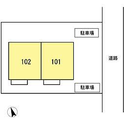 [テラスハウス] 東京都昭島市朝日町 の賃貸【/】の外観
