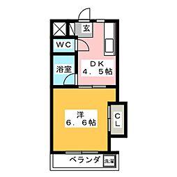 新葵ビル[4階]の間取り