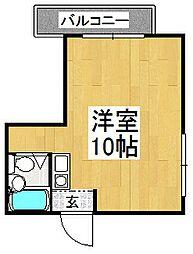 サンコート21[4階]の間取り