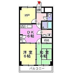 RYUMA・PLACE[33A号室]の間取り