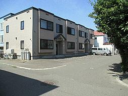 北海道札幌市東区伏古十四条3丁目の賃貸アパートの外観