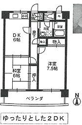 ドルチェ武庫之荘[405号室]の間取り