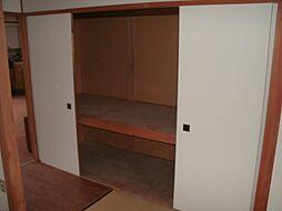 和室6畳の押入...