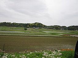 周りの田園風景...