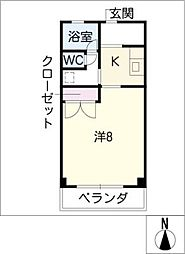 パステル21[3階]の間取り