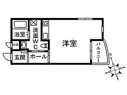kuguhi(クグイ)[2階]の間取り