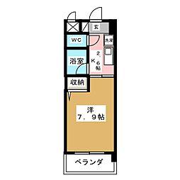 クリエイティブ一宮[2階]の間取り