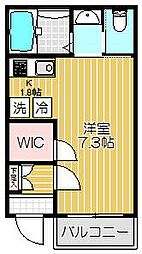 マ・メゾン大崎[1階]の間取り