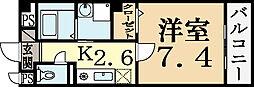 メゾンNICO[2階]の間取り
