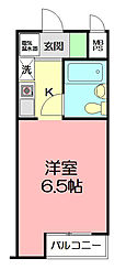 日神パレス戸塚[2階]の間取り