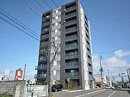 北海道札幌市東区北三十六条東7丁目の賃貸マンションの外観