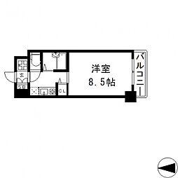 ロータリーマンション長田東[702号室号室]の間取り