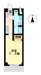 ティースクエア[3階]の間取り