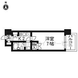 デイスタ−アベニュー503[5階]の間取り