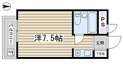 駒込K&Mビル[504号室]の間取り